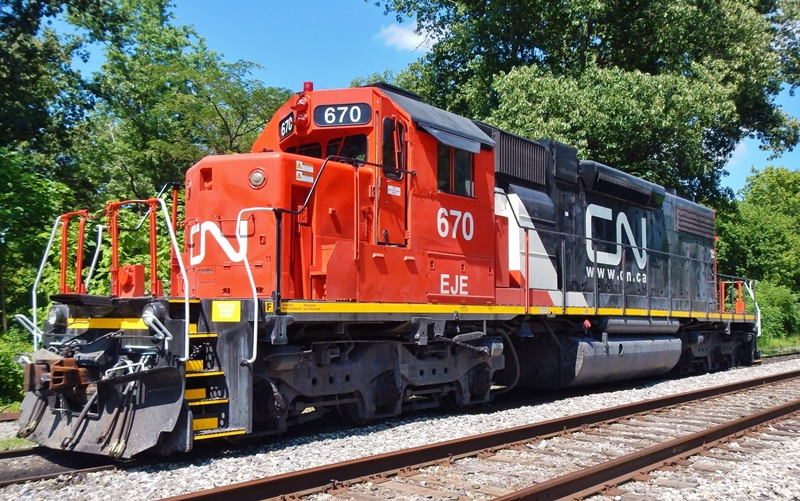 Canadian Railway Observations : Canadian National